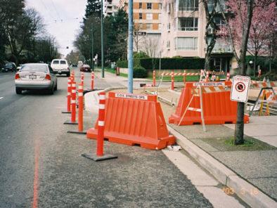 Safety Barricades Construction site Premier Plastics