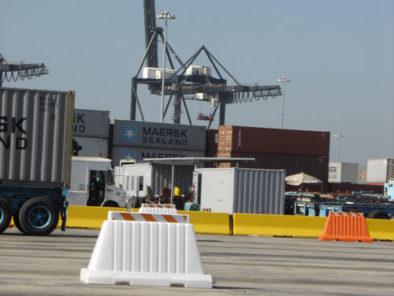 RoadRunner Barricades Ship docks Vancouver
