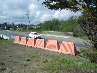 Road block barrier Premier Plastics traffic